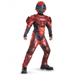 Disguise Red Spartan Classic Muscle Teen Costume