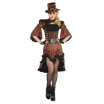 Dream Steamy Adult Costume XL: X-Large, Everyday, Adult