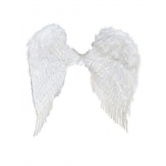 Fun World 37 Inch White Feather Wings
