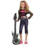 80s Rock Star Child Costume S: Small, Everyday, Child