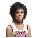 Forum Novelties 80s Unisex Adult Black Wig