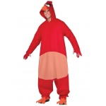 Angry Birds Movie: Red Bird Adult Costume STD: Standard, Everyday, Adult