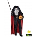 Morbid Animated Headless Horseman Prop