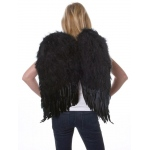 Rubie's Costumes Feather Wings- Black