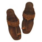 Hippie Sandals Adult Costume - Large