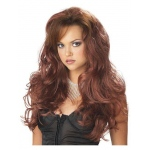 Rubie's Costumes Adult Auburn Seductress Wig One-Size
