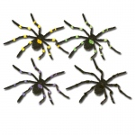 "50"" Hairy Posable Spider Asst. (1 count): Halloween, Unisex"
