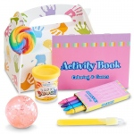 Art Party Filled Favor Box: Birthday