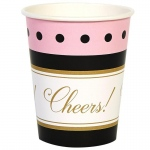 BuySeasons Cheers To You! 9oz Paper Cups (8)