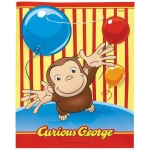 Unique Industries, Inc. Curious George Treat Bags (8 count)