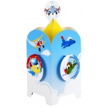 Airplane Adventure Centerpiece (stock): Birthday