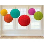 Amscan Fiesta Paper Lantern Value Pack