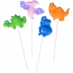 Dinosaur Lollipop (stock): Various - color may vary, Birthday