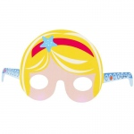 Mermaid Tiara Paper Masks -