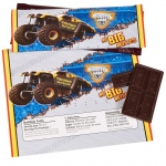 Monster Jam 3D Large Candy Bar Wrappers (stock): Multi-colored, Birthday