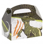 Dinosaurs Empty Favor Boxes (stock): Multi-colored, Birthday