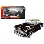 "1953 Chevrolet Bel Air Brown ""Showroom Floor"" 1/24 Diecast Model Car by Jada"