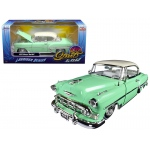 "1953 Chevrolet Bel Air Light Green ""Lowrider Series"" Street Low 1/24 Diecast Model Car by Jada"