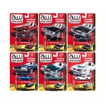 Autoworld Premium 2017 Release 3A Set Of 6 Cars 1/64 Diecast Model Cars by Autoworld