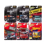 Street Freaks 2017 Release 3A Set of 6 cars 1/64 Diecast Model Cars by Johnny Lightning