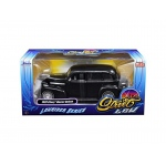 "1939 Chevrolet Maser Deluxe Black ""Lowrider Series"" Street Low 1/24 Diecast Model Car by Jada"
