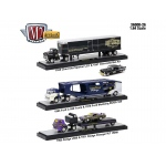 Auto Haulers Release 26, 3 Trucks Set 1/64 Diecast Models by M2 Machines