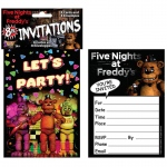 Forum Novelties Five Nights at Freddy's Invitations (8)