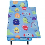 Wildkin Olive Kids Monsters Microfiber Nap Mat