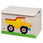 Wildkin Olive Kids Dump Truck Toy Chest