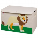 Wildkin Olive Kids Lion Toy Chest
