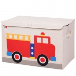 Wildkin Olive Kids Fire Truck Toy Chest