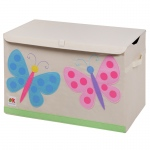 Wildkin Olive Kids Butterflies Toy Chest