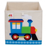 Wildkin Olive Kids Train Storage Cube