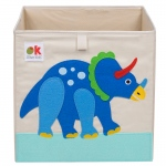 Wildkin Olive Kids Dinosaur Land Storage Cube