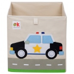 Wildkin Olive Kids Police Car Storage Cube