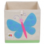 Wildkin Olive Kids Butterflies Storage Cube