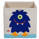 Wildkin Olive Kids Monster Storage Cube