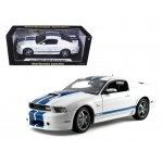2011 Ford Shelby Mustang GT350 White 1/18 Diecast Model Car by Shelby Collectibles