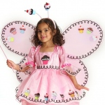 Cupcake Fairy Child Wings:One Size