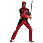 Disguise Adult Costume: Deadpool Classic, X-Large