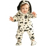 Dalmatian Toddler Costume: Black/White, 2/4T, Everyday, Unisex, Toddler