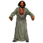 Bleeding Chest Evil Pumpkin Child Costume:Large (12/14)