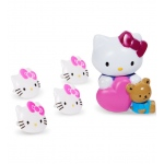 Hello Kitty Cake Topper and 8 Rings: