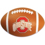 Bakery Crafts Football Cake Decoration: Ohio State Buckeyes