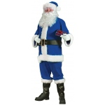 Blue Santa Suit Adult Large Costume:STD(40/48)