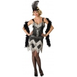 Charleston Cutie Adult Costume:Large