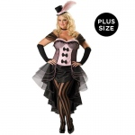 Burlesque Babe Adult Plus Costume:Plus (3X)