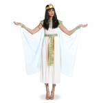 Cleopatra Adult Costume: White, X-Small, Everyday, Female, Adult