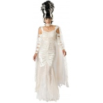 Bride of Frankenstein Elite Adult Costume: White, X-Large, Everyday, Female, Adult