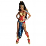 Anime - Wonder Woman Adult Costume: Red, Small, Everyday, Female, Adult